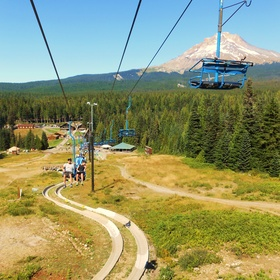 Ride a chairlift and hike or bike back down - Bucket List Ideas