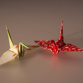 Decorate my wall with paper cranes - Bucket List Ideas