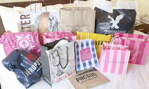Go on a no-budget shopping spree - Bucket List Ideas
