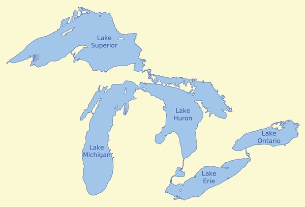 Stick my toes in every Great Lake - Bucket List Ideas