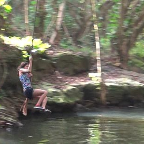 Rope swing into water - Bucket List Ideas