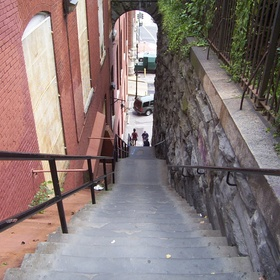 Climb the stairs from the Exorcist - Bucket List Ideas