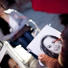 Get my portrait done by a street artist - Bucket List Ideas