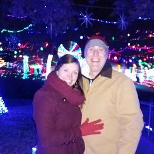 Walk through a large Christmas light display - Bucket List Ideas