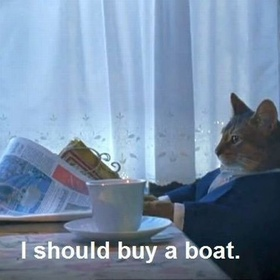 Buy a boat - Bucket List Ideas