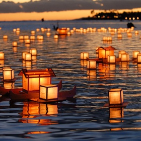 Attend a light festival (in Thailand) - Bucket List Ideas