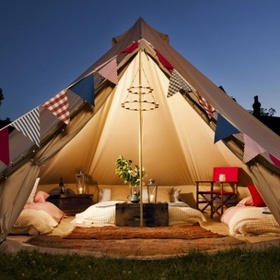 Go Glamping (Glamourous Camping) - Bucket List Ideas