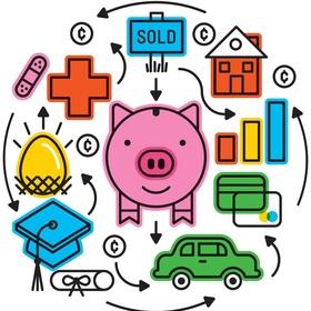 Live debt free - Bucket List Ideas
