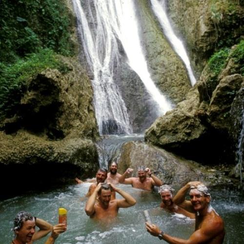 Shower under a waterfall - Bucket List Ideas