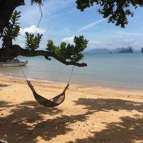 Relax in a hammock suspended between trees - Bucket List Ideas