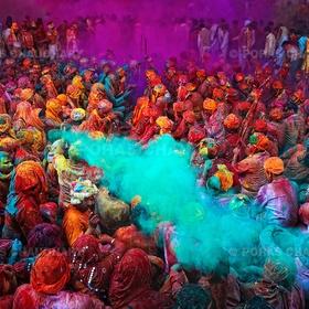 Celebrate Happy Holi in India - Bucket List Ideas