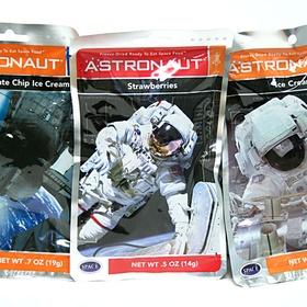Try food eaten by astronauts - Bucket List Ideas