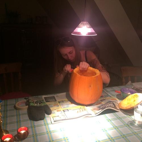 Carve a pumpkin - Bucket List Ideas