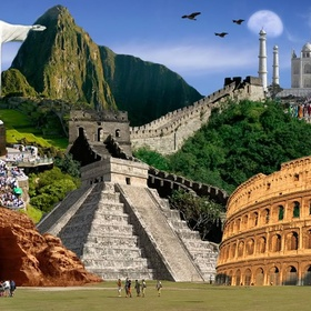 Travel to the 7 wonders of the world - Bucket List Ideas