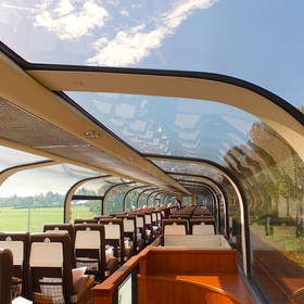 Take a Ride on a Train with a Glass Ceiling - Bucket List Ideas