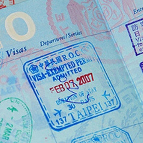 Fill at least one passport book - Bucket List Ideas