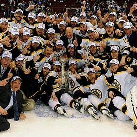 Go with my dad to a Bruins Stanley Cup - Bucket List Ideas