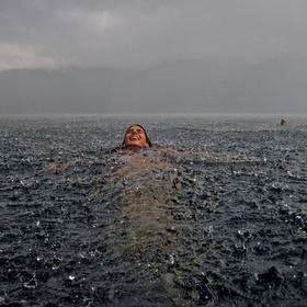 Swim in the ocean while it's raining - Bucket List Ideas