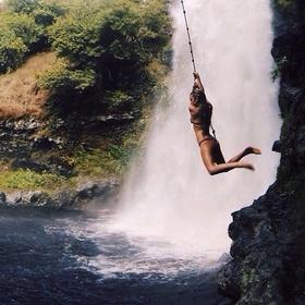 Rope swing into refreshing waters - Bucket List Ideas