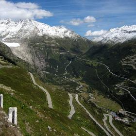 Drive on Furka Pass, Switzerland - Bucket List Ideas