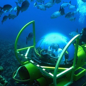 Dive in a Personal Submarine or Sea Breacher - Bucket List Ideas