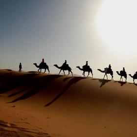 Take a camel caravan in morocco - Bucket List Ideas