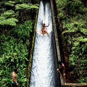 Go of the secret water slide in the jungle - Bucket List Ideas