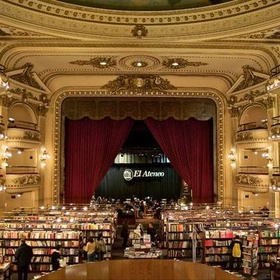Visit Librería El Ateneo Grand Splendid in Buenos Aires, Argentina - Bucket List Ideas