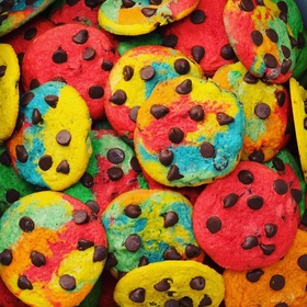 Try Rainbow Cookies at Turnstyle in New York City - Bucket List Ideas