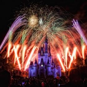See fireworks over Cinderella's castle - Bucket List Ideas