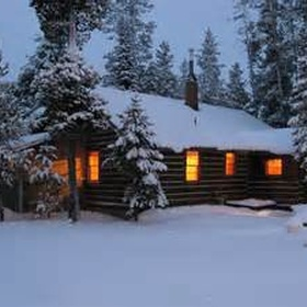 Stay in a log cabin for new years - Bucket List Ideas