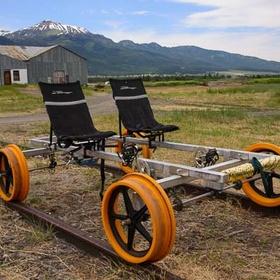Take a ride on a Railcar Bike in Oregon - Bucket List Ideas