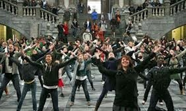 Participate in a Flash Mob - Bucket List Ideas