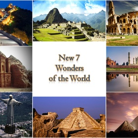 See the 7 wonders of the world! - Bucket List Ideas