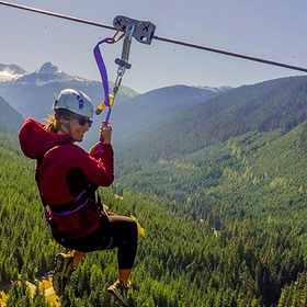 Zipline through the forests of Whistler, BC, Canada - Bucket List Ideas