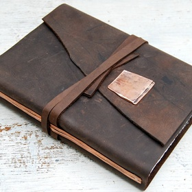 Buy a leather bounded notebook - Bucket List Ideas