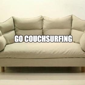 Go Couchsurfing - Bucket List Ideas