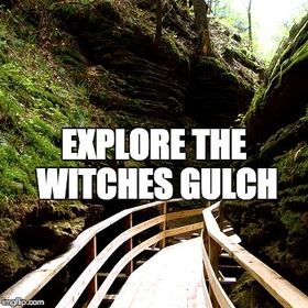 Explore the Witches Gulch - Bucket List Ideas