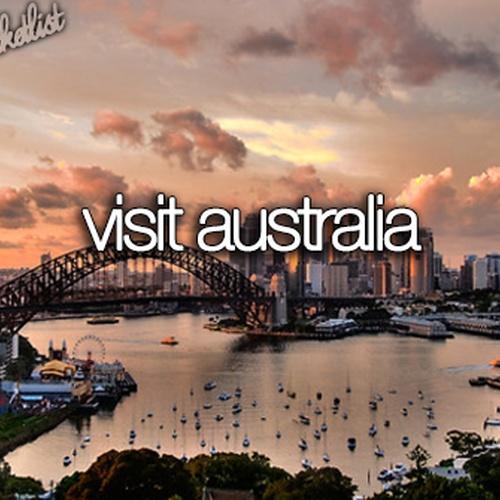 Visit Australia - Bucket List Ideas