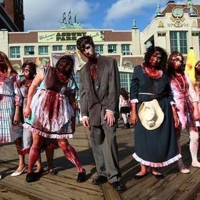 Participate in a Zombie Walk - Bucket List Ideas