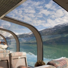 Ride a glass ceiling train - Bucket List Ideas
