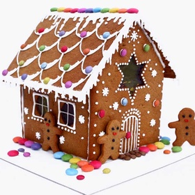 Build a gingerbread house from scratch - Bucket List Ideas