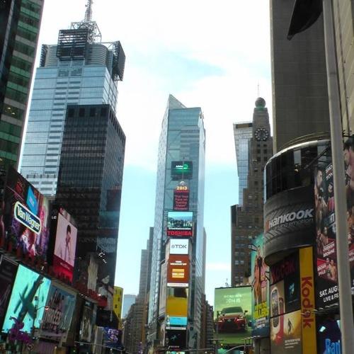 Visit Times Square - Bucket List Ideas