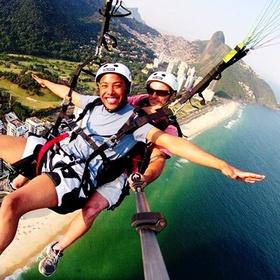Go Paragliding in Rio - Bucket List Ideas
