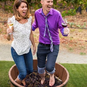 Stomp on Grapes to make Wine - Bucket List Ideas