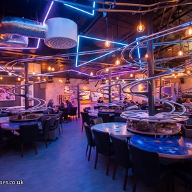 Visit a Rollercoaster Restaurant - Bucket List Ideas