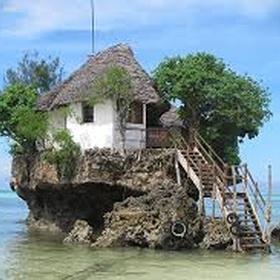 Eat at the Rock Restaurant in Zanzibar, Tanzania - Bucket List Ideas