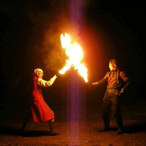 Have a fire sword fight - Bucket List Ideas
