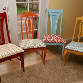 Reupholster A Chair - Bucket List Ideas