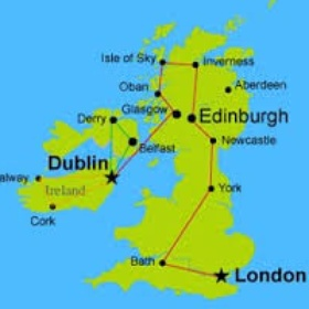Backpack through the united kingdom - Bucket List Ideas